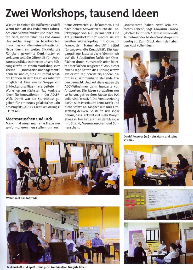 Innovation, Idee, Entscheidung, Team, Heureka, Produktidee, Seminar, Workshop, IAK Institut für Angewandte Kreativität