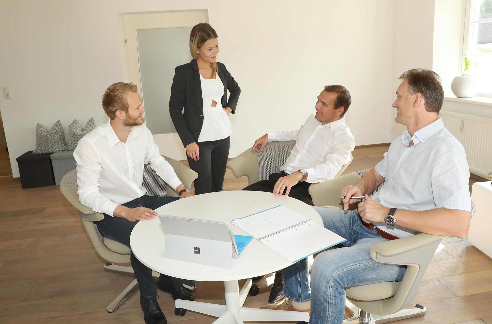 Mitarbeitergespräch, Meeting, Konferenz, Zielvereinbarung, Kommunikation