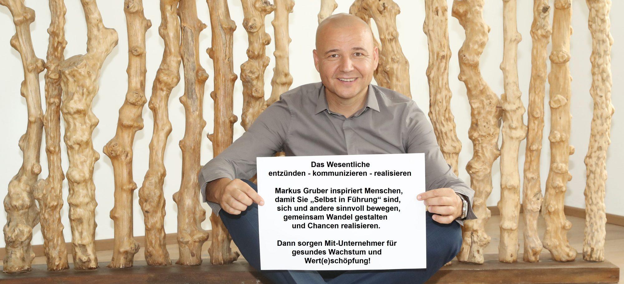 IAK Institut für Angewandte Kreativität, Markus Gruber, Trainerprofil, ChancenRealisierer, Trainer, Coach, iak.at